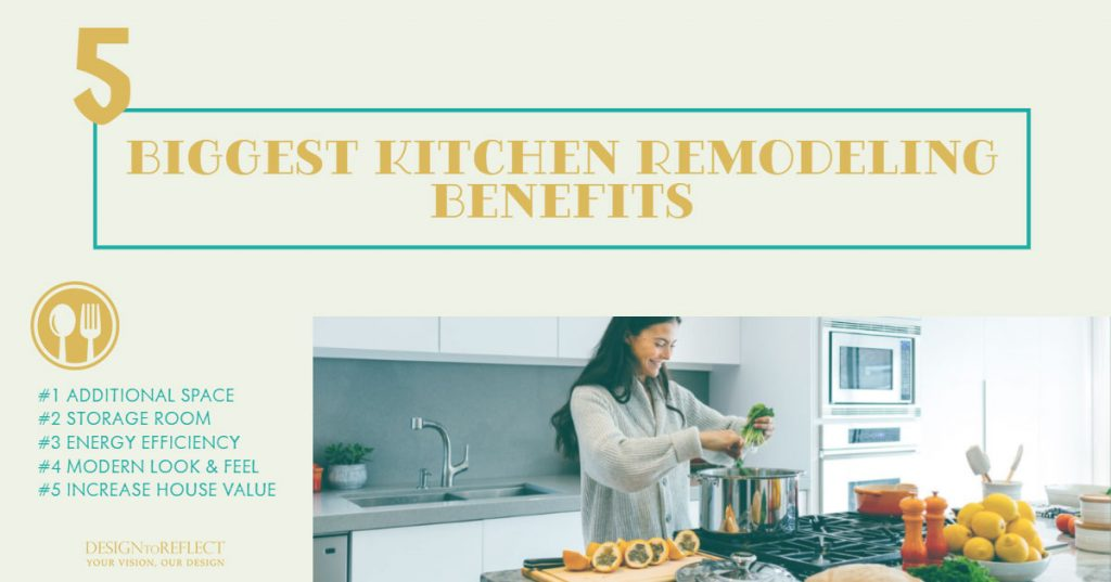 5 Biggest Benefits of Remodeling a Kitchen