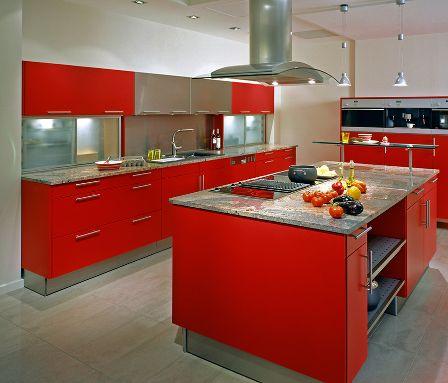Red-Kitchen